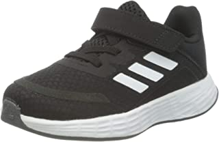 Adidas Duramo SL C Back-Logo Velcro-Strap Iridescent-Stripe Lace-Up Running Sneakers for Kids