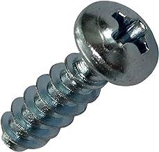 AERZETIX 50x Tornillos con cabeza conica M3.5x19mm acero galvanizado huella cruciforme Phillips PH2 C19473