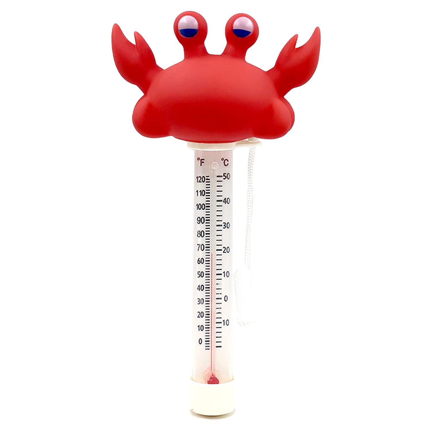 Max 55% OFF XY-WQ Floating Pool Thermometer Crab Size with Large Read Easy Product