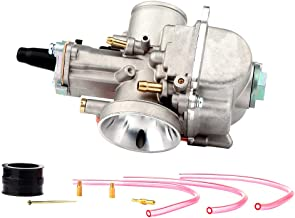 SCITOO PWK 30mm Carburetor Fit for Yamaha/Amen Chassis Works/Benelli/CC Cycles/Ducati Dirt Pit Bike ATV Go Kart