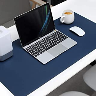 Mouse Pad Extended PU Leather, Tobeape Large Desk Mat,80x40cm Blotter Dual Sided Non Slip Water Resistant for Keyboard and...
