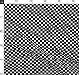 Karomuster, Schwarz, Weiß, Kariert, Quadrate, Schachbrett