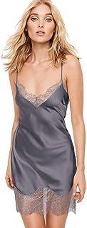 67b7e9117d Victoria s Secret Dream Angels Satin Slip Black Pearl XSmall