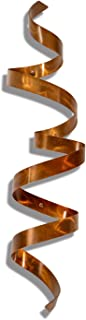 Modern Contemporary Wall Sculpture Copper - Multi-Dimensional Wall Décor, Handmade Metal Wall Art - Wall Twist By Jon Allen