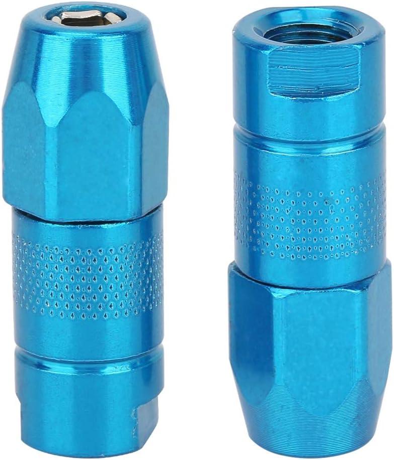 racor de engrasador para automoci/ón Boquilla de grasa f/ácil de usar blue