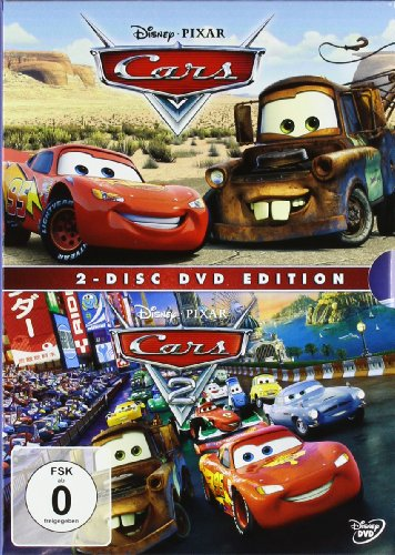 Cars / Cars 2 [2 DVDs]