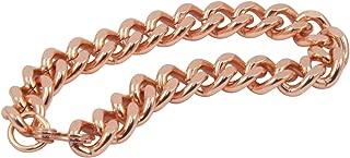Apex Copper Bracelet Wide Link Size 9
