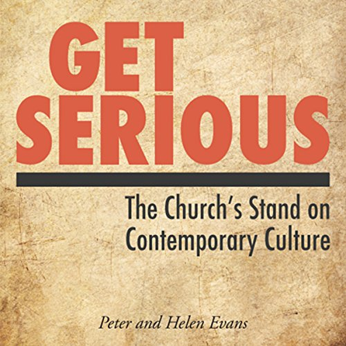 Get Serious: Who Ever Said Christianity Was Nice? audiobook cover art