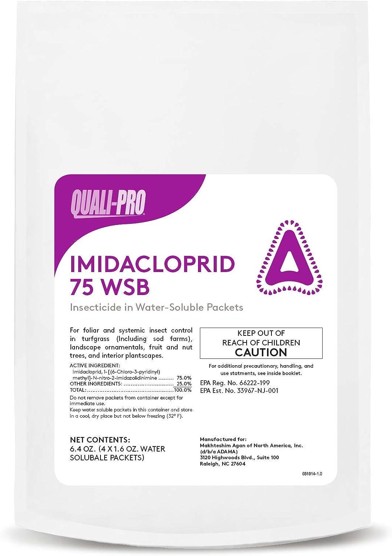Imidacloprid 75 WSB Generic Merit 人気の製品 bags 1.6 x oz 正規品送料無料 4