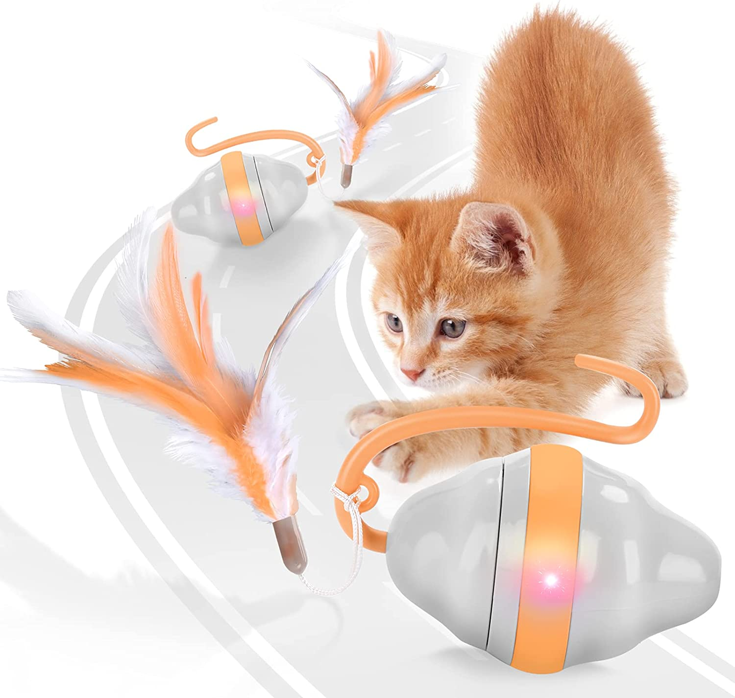 RIOFLY Automatic Cat Toys Interactive To Cheap mail order sales 5 popular - Mouse
