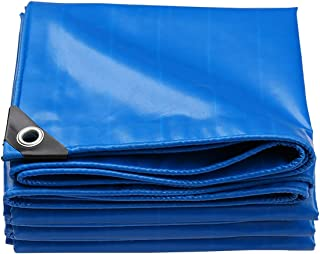 Lona impermeable hoja lona cubierta azul 8/m x 10/m aprox. 26/x 33