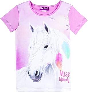 Miss Melody Niñas Camiseta, púrpura
