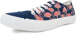 Pink Flamingo Sneakers | Cute, Fun Party Clothes Tennis Shoe for Women or Men