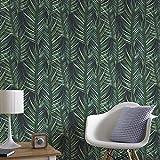 Superfresco Easy Coller le mur Papier peint Feuille de palmier Vert