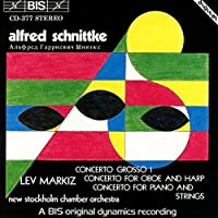Schnittke: Concerto Grosso No. 1; Concerto for Oboe and Harp; Concerto for Piano and Strings (1993-07-06)