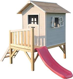 EXIT Beach 300 Wooden Playhouse - Grey - Casas de Juguete (Casa de Juegos sobre