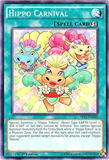 Yu-Gi-Oh! - Hippo Carnival (SP15-EN040) - Star Pack ARC-V - 1st Edition - Common