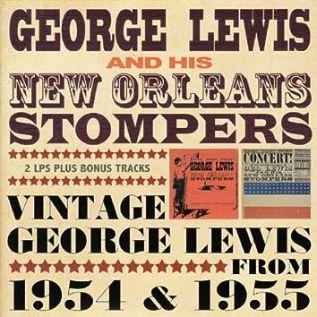 Vintage George Lewis 1954 & 1955