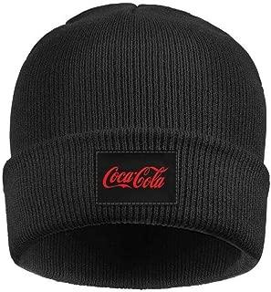 chenhou Coca Cola Logo -red Cuffed Beanie Knit Hat Skull Beanies Cap Fine Knit for Men Women