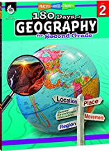 180 Days of Social Studies: Grade 2 - Daily Geography Workbook for Classroom and Home, Cool and Fun Practice, Elementary School Level Activities ... to Build Skills (180 Days of Practice)