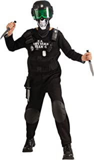 Black Team 6 Kids Costume