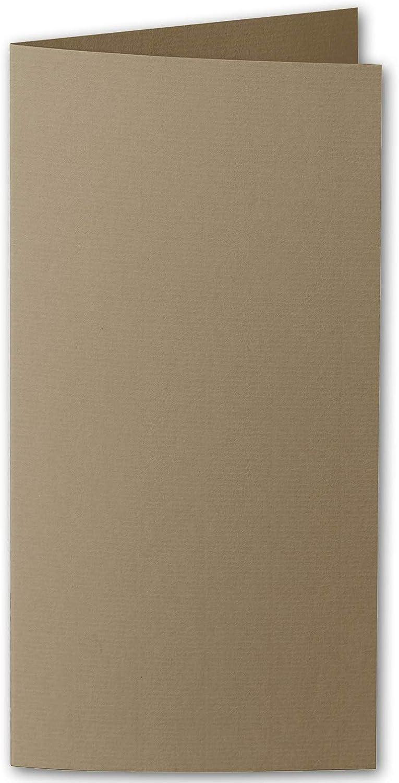 grandes precios de descuento Artoz 1001 DIN 2019 - Tarjetas Plegables Plegables Plegables (220 g m2, 2 Unidades), Color 586 - Taupe 100 Stück  contador genuino