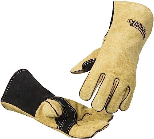 2021 Lincoln Electric Heavy Duty online sale MIG/Stick Welding Gloves | Heat Resistant & Durabilty | Large | 2021 K4082-L outlet online sale