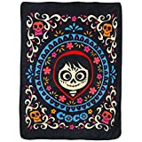 Disney's Coco, 'Miguel' Micro Raschel Throw Blanket, 46' x 60', Multi Color