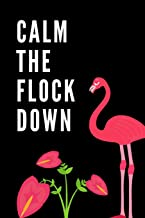 Calm The Flock Down: The Ultimate Summertime Pink Wading Bird Journal: This is a 6X9 102 Page Diary To Write Things in. Makes a Great Summer Time Beach Vacation Lover's Gift For Men or Women.