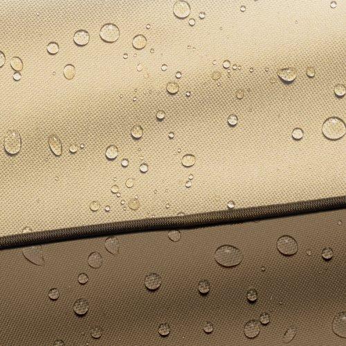 Classic Accessories Patio-Heizpilz-Abdeckung für die Terrasse, Kiesel, Passend für Heizpilze bis zu 86,36 cm Kuppel und 46,99 cm Boden - 10