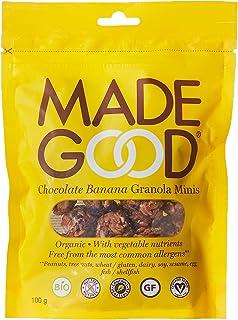 MADE GOOD Muesli Minis Pouch Chocolate Banana, 100 gm