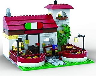 Brigamo Briques de construction Pizzeria Ristorante, 328 briques de serrage