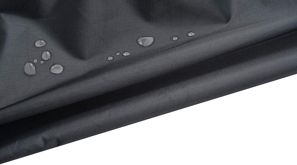 EDAHB/®Chiminea Cover Patio Outdoor Impermeabile Resistente agli Agenti atmosferici Camino Fire Pit Fontana Protettiva Riscaldatore per Giardino Copertura UV Anno Intorno alla Protezione