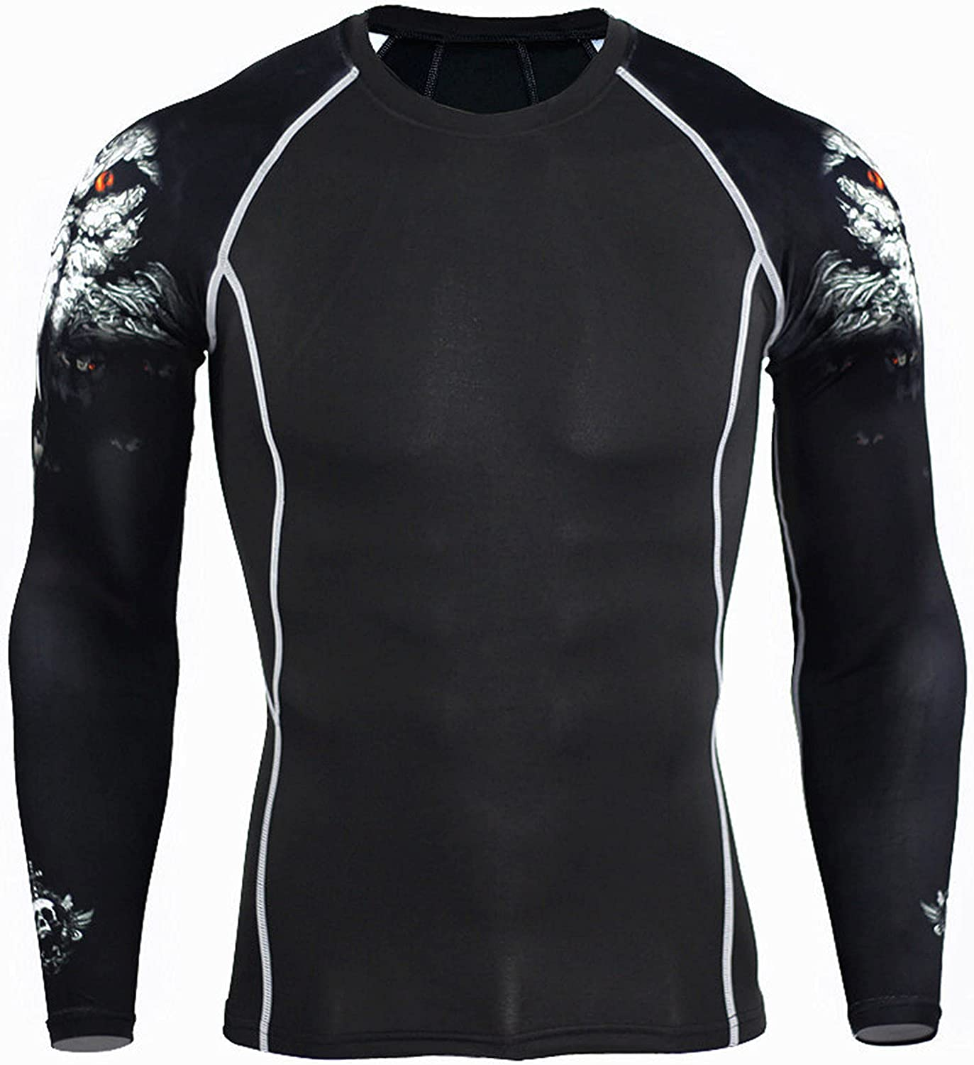 Men's Sports Running Deluxe Industry No. 1 Compression Set 3D Printed Cool on Desi Arm