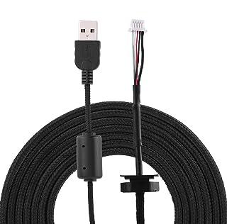 Cable de Mouse USB, reemplazo de línea de Alambre para Mouse de Juego Logitech G9 / G9X