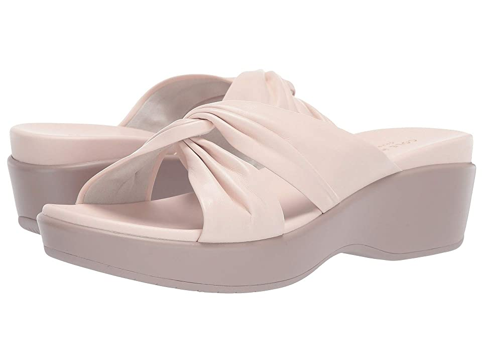 Cole Haan Aubree Grand Knotted Slide Sandal (Morganite Nappa/Etherea) Women