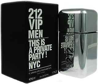 Carolina Herrer 212 Vip Eau De Toilette Spray for Men, 1.7 Ounce