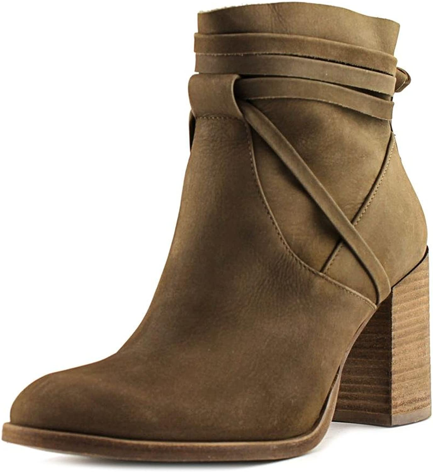 Steve Madden Percy Women US 6.5 Tan Ankle Boot