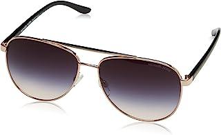 HVAR MK5007 Sunglasses 109936-59 - Rose Gold Frame, Grey...