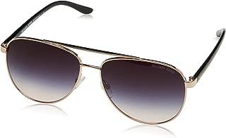 MK5007 109936 Rose Gold Hvar Pilot Sunglasses Lens...