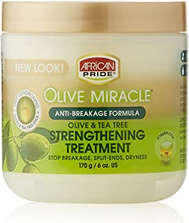 African Pride Olive Miracle Cream 6 Oz