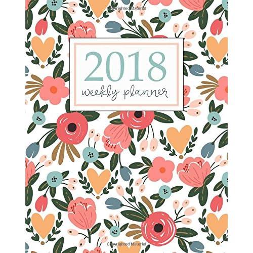 2018 Planner Weekly And Monthly: Calendar Schedule Organizer ...