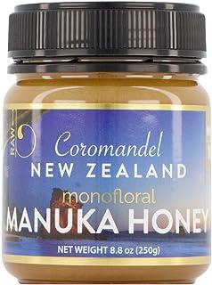 Manuka Honey New Zealand Superfood, 8.8 oz jar of 100% Raw & Pure MGO 185 (8+) Monoflora Manuka Honey from New Zealand, Sh...