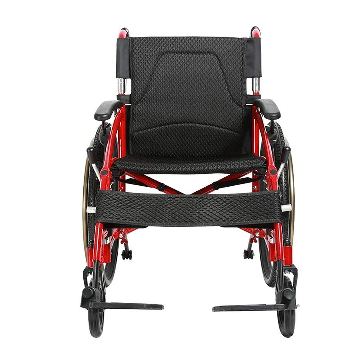 診断する謎整理する車椅子折りたたみ超軽量アルミニウム合金、高齢者向け車椅子、多目的トロリー