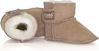 UGG Boots Kids Bootie - Baby Infant Shoes, Premium Australia Sheepskin, No Sole