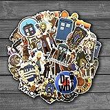 BLOUR 2020 New Doctor Who Stickers Sets Anime Sticker Lot para computadora portátil Bicicleta teléfono Guitarra Dibujos Animados Pegatinas Paquete