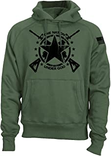 Fantastic Tees USA Army PT Style Patriotic Military Infantry Physical Training Sweatshirt Hoodie