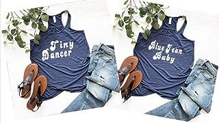 Elton John Shirt, Elton John T Shirt, Elton John Concert T Shirt, Women's Racerback Flowy Tank Top