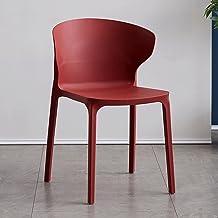 Kreatywne krzesło z tworzyw sztucznych, nowoczesne minimalistyczne krzesło nordyczne z folderu casual nowoczesny minimalis...