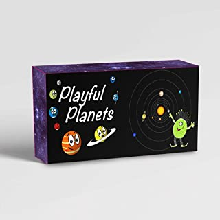 Playful Planets Classic Card Games for Kids and Families – Old Maid, Go Fish, Bingo, Memory with A Planetary Twist - Fun Packed Educational Space Game! 10 Games in 1 Fun Pack!